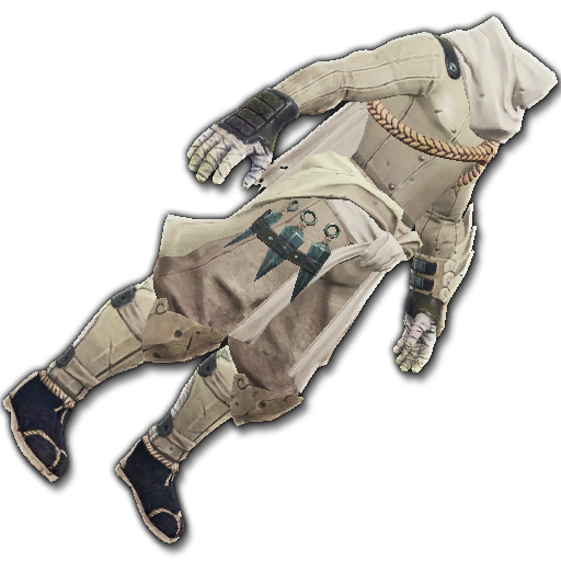 Recipe: Covert Watcher's Cloak (Ivory)