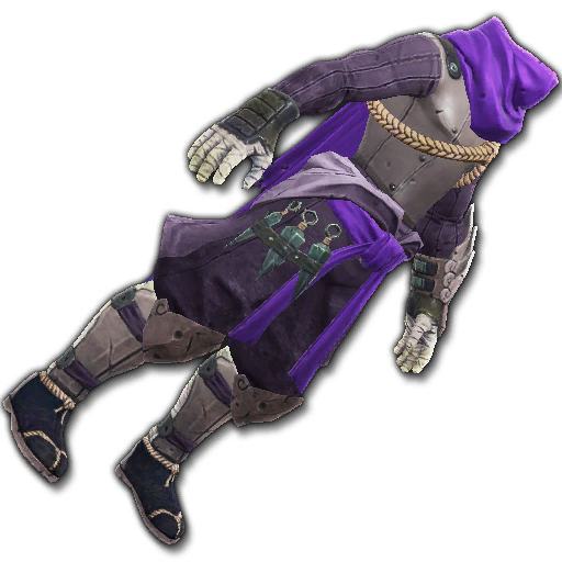 Recipe: Covert Watcher's Cloak (Purple)