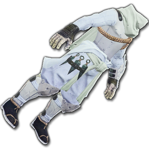 Recipe: Covert Watcher's Cloak (White)