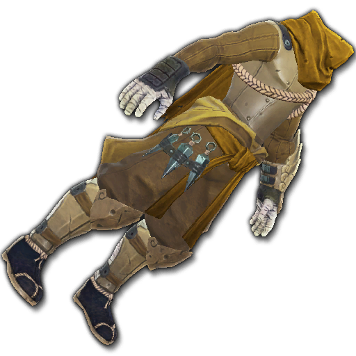 Recipe: Covert Watcher's Cloak (Gold)