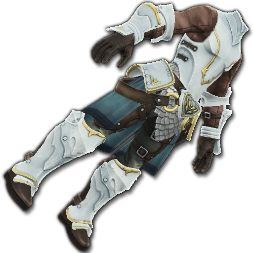 Recipe: Hero's Stalwart Guard (White)