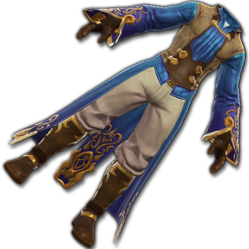 Recipe: Rascal's Custom Finery (Blue)