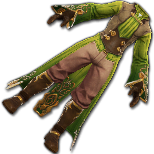 Recipe: Rascal's Custom Finery (Green)