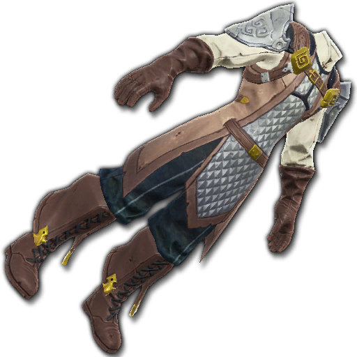 Recipe: Brawler's Gilded Doublet (Silver & Brown)