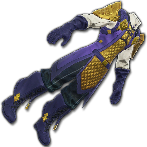 Recipe: Brawler's Gilded Doublet (Gold & Purple)