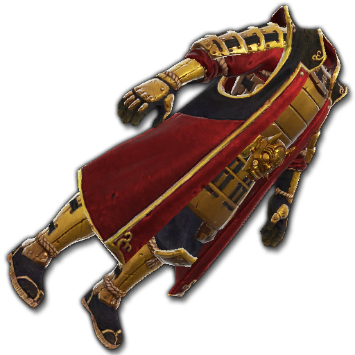 Recipe: Ronin's Reinforced Coat (Gold & Red)