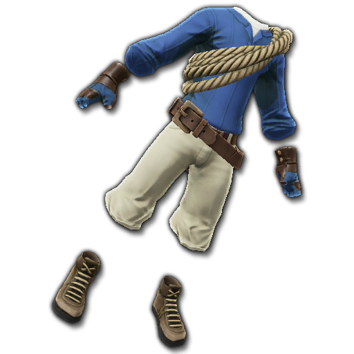 Recipe: Adventurer's Hiking Gear (Royal Blue)