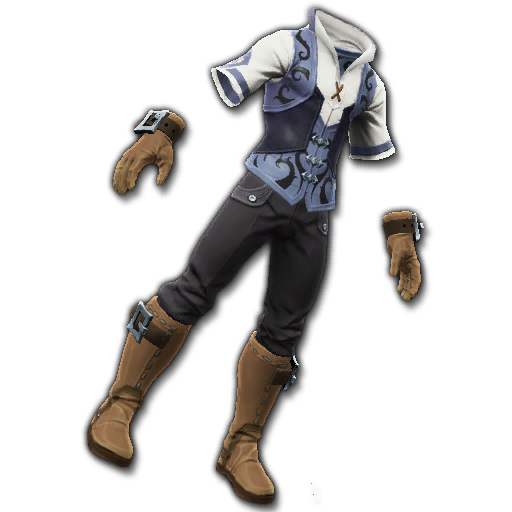 Recipe: Pathfinder's Gear (Blue)
