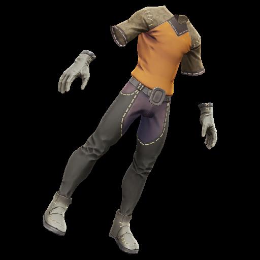 Recipe: Artisan's Outfit (Orange)