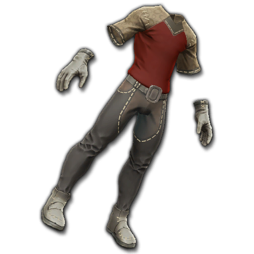 Recipe: Artisan's Outfit (Red)